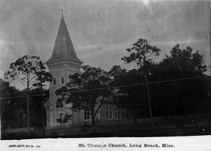 St Thomas Church, before Hurricane Camille