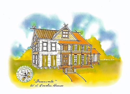 W.J. Quarles house transitioning